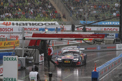 The cars sit on the pit road prior to the Sunday Final Mattias Ekström, Team HWA AMG Mercedes, AMG Mercedes