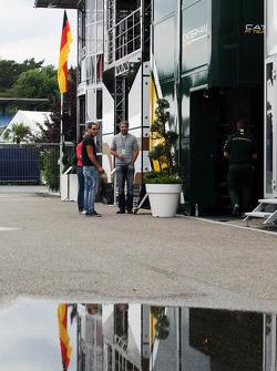 Caterham F1 Team Motorhome