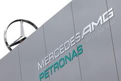 Mercedes GP motorhome