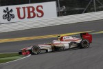 Narain Karthikeyan, HRT Formula One TeamTeam is spinning
