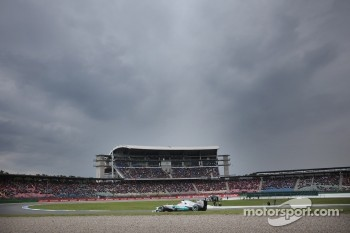 Michael Schumacher, Mercedes GP under dark clouds