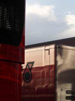Team Truck, Paddock atmosphere