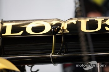 Lotus F1 rear wing detail