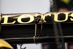 Lotus F1 rear wing detail