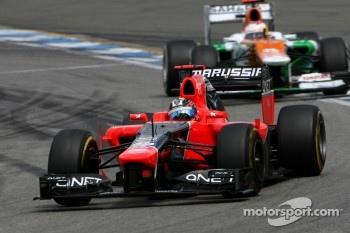 Timo Glock, Marussia F1 Team