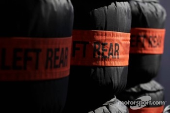 Sahara Force India F1 Team tyre blankets