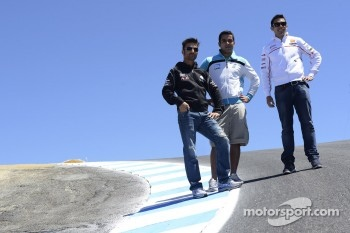 Michele Pirro, Honda Gresini and friends at the corkscrew
