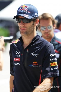 Mark Webber  Ferraris First Choice?