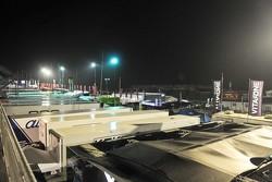 Paddock by night