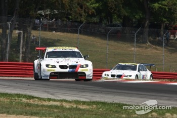 #55 BMW Team RLL BMW E92 M3: Jorg Müller, Bill Auberlen