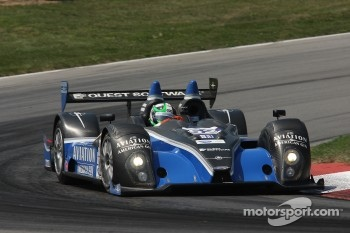 #52 PR1 Mathiasen Motorsports Oreca FLM09 Chevrolet: Marino Franchitti, Ken Dobson