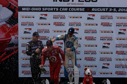 Will Power, Scott Dixon,  Simon Pagenaud