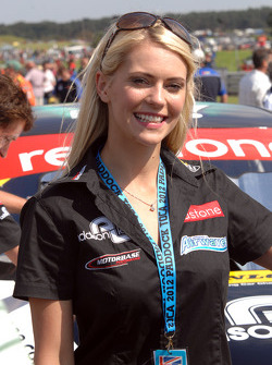 Redstone Racing Grid Girl