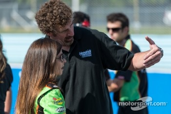 Boris Said and Danica Patrick