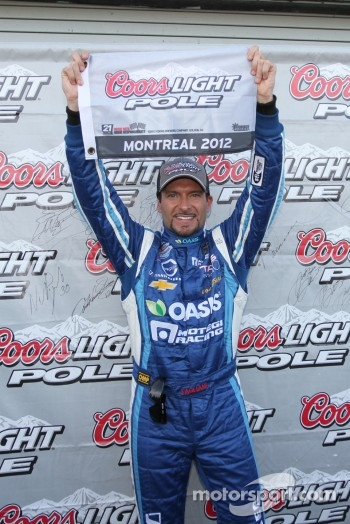 Pole sitter Alex Tagliani