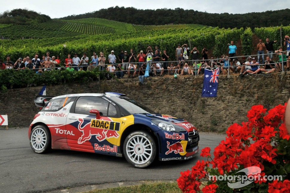 Sébastien Loeb and Daniel Elena, Citroën DS3 WRC, Citroën Total World Rally Team