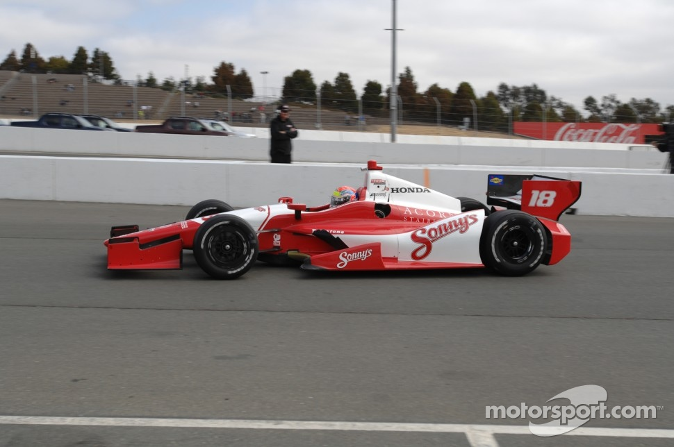 Justin Wilson, Sonny's BBQ Dale Coyne Racing Honda