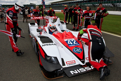 #42 Greaves Motorsport Zytek Z11SN Nissan:Martin Brundle, Alex Brundle, Lucas Ordonez