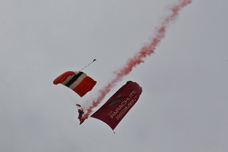 The Parachute regiment display team