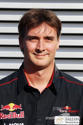 James Key, announced as the new Scuderia Toro Rosso Technical Director