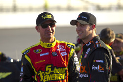 Clint Bowyer and Denny Hamlin