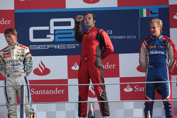 Podium: winner Luca Filippi, second place Johnny Cecotto, third place Marcus Ericsson