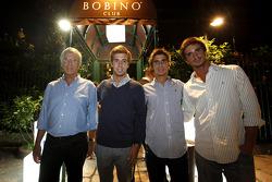 Antonio Felix Da Costa and his family