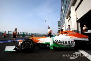Luiz Razia, Sahara Force India F1 Team