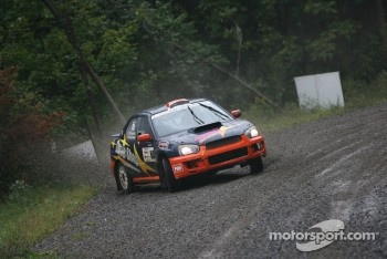 Marc Bourassa and Daniel Paquette, Subaru Impreza Sti