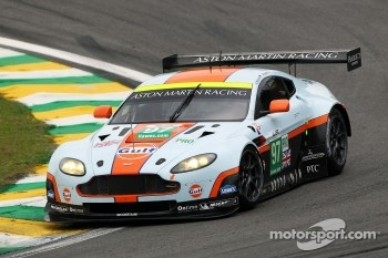 #97 Aston Martin Racing Aston Martin Vantage V8: Stefan Mcke, Darren Turner