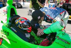 James Hinchcliffe, Andretti Autosport Chevrolet and Marco Andretti, Andretti Autosport Chevrolet