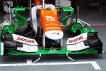 Sahara Force India F1 front wing and nosecone