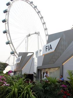 FIA paddock building
