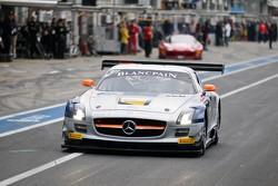 #101 Heico Gravity-Charouz Team Mercedes-Benz SLS AMG GT3: Dominik Baumann, Maximilian Buhk