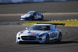 #90 Preci-Spark Mercedes-Benz SLS AMG GT3: David Jones, Godfrey Jones