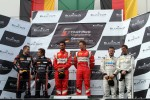 Podium: winners Filip Salaquarda, Toni Vilander, second place Marc Basseng, Markus Winkelhock, third place Peter Kox, Stefano Rosina