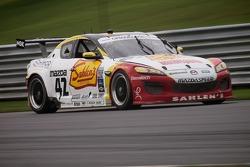 #42 Theracesite.com Team Sahlen Mazda RX-8: Wayne Nonnamaker, Joe Nonnamaker