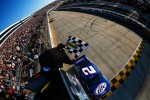 Brad Keselowski, Penske Racing Dodge takes the win