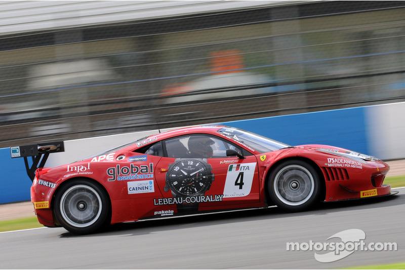 #4 AF Corse Ferrari 458 Italia: Francesco Castellacci, Enzo Ide