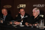 Stone Brothers Racing owner Ross Stone, Erebus Motorsport owner Betty Klimenko announce the AMG V8 entry