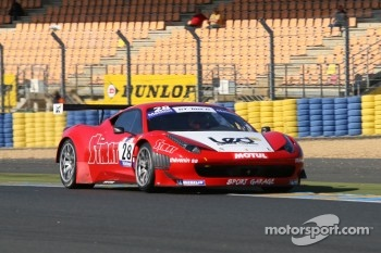 #28 Sport Garage Ferrari 458 Italia: Alban Dunod; Arno Santamato