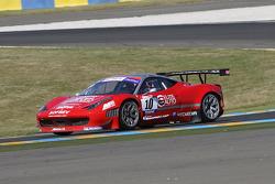 #10 Sofrev ASP Ferrari 458 Italia: Eric Debard; Olivier Panis