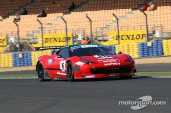 #16 Sofrev ASP Ferrari 458 Italia: Fabien Barthez; Morgan Moulin-Traffort