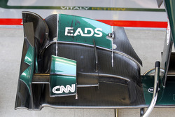 Caterham front wing