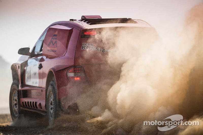 #311 Ferromin Sam-Mercedes: Ilya Kuznetsov, Roman Elagin