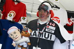 Kamui Kobayashi, Sauber merchandise on sale