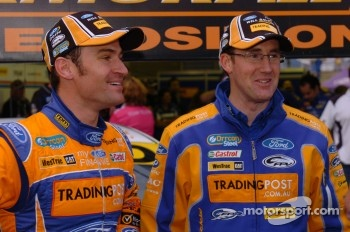 Pole winner Will Davison, Trading Post FPR Ford