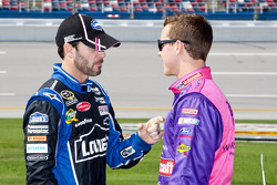 Jimmie Johnson and Trevor Bayne