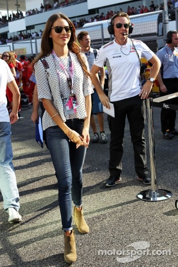 Jessica Michibata, on the grid