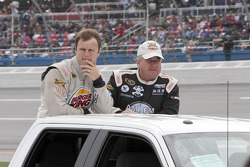 Travis Kvapil and Joe Nemechek